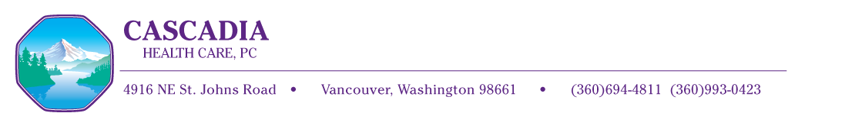 Cascadia Health Care Logo
